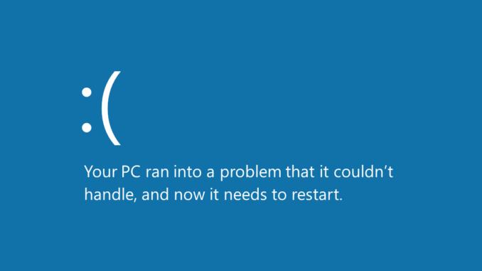 Bluescreen Windows 10