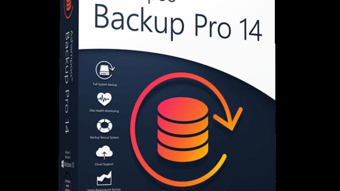 Ashampoo Backup Pro 14 – Selbstkontrollierendes Backup zum Sichern, Retten und Wiederherstellen