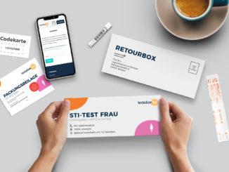 Online-Plattform für STI-Selbsttests