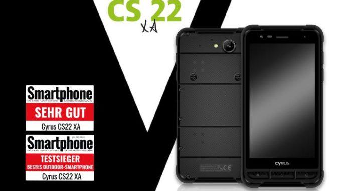 """""""Smartphone"""" Magazin kürt CS22 XA zum Besten Outdoor-Smartphone 2019"""