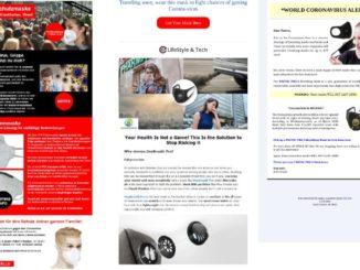 Atemmasken sind Mangelware - Cyberkriminelle locken mit Fake-Shops