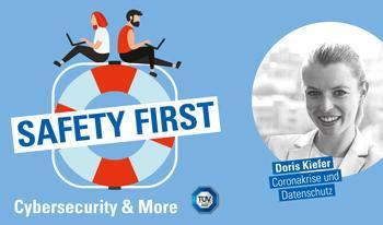 """TÜV SÜD-Podcast """"Safety First"""": Coronakrise und Datenschutz"""