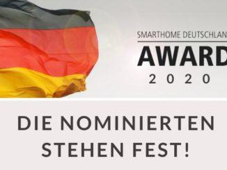 SmartHome Deutschland Award 2020: Das sind die Nominierten