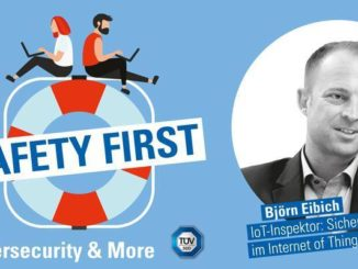 "TÜV SÜD-Podcast ""Safety First"": Sicher im Internet of Things mit dem IoT-Inspektor"