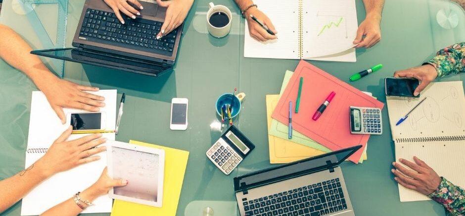 Im Schnitt haben Startups gut 20 Mitarbeiter