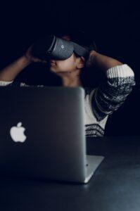 Wohnungsbesichtigung VR Brille