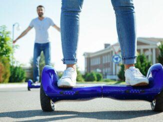 Hoverboard Robway X2: Auch Offroad sicher unterwegs